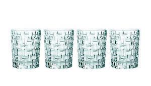 4er Set Nachtmann Whisky Gläser aus Kristall Glas Whiskey Becher Gin Tumbler