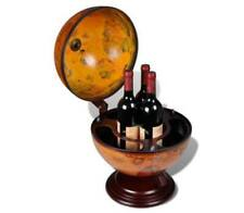 Tabletop Globe Bar Embowed Stand Wine Liquor Table Stand Minibar Cabinet Drinks