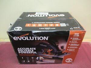 "Evolution Power Tools R185CCSX 7-1/4"" Multi-Material Circular Track Saw Kit NEW"