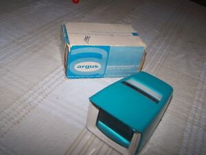 Argus Previewer III Slide viewer original box FREE SHIPPING