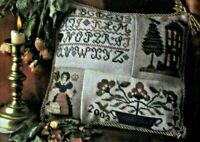 """Sampler Patches"" Counted Cross Stitch Chart  Sandra Sullivan Homespun Elegance"