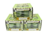 Yankee Candle  Olive & Thyme Scented Candles Tea Lights x 3 boxes Packs of 12