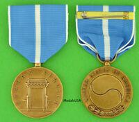 US Korean War Service Medal - USA Made - full size - Korean Conflict  KSM