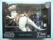 "STAR WARS 2014 BLACK SERIES 6"" INCH DELUXE WAVE 2 - HAN SOLO AND TAUNTAUN MIB"