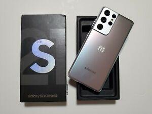 Samsung Galaxy S21 Ultra 5G - 256GB - Duos - Phantom Silver - Unlocked + VATINC
