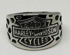 Harley Davidson Titanium Flame Ring Size 12