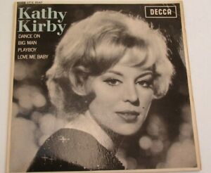 Kathy Kirby – Kathy Kirby 1963 UK EP Big Man/Dance On DECCA PLAYS NEAR MINT HEAR