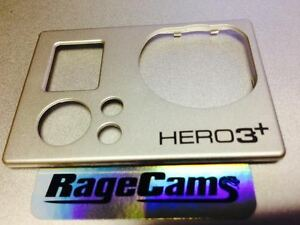 Front Faceplate Camera Face Plate Cover For Gopro HD Hero HD3 Hero3+Black MINT