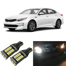 White LED 921 W16W Backup Reverse Light Bulbs For 2003-2018 Kia Optima