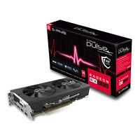 Sapphire RX 580 Pulse Graphics Card, 4GB GDDR5, DVI-D, 2xHDMI, 2xDP