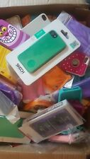 LOT of 250 iPhone 5, 5S, 5C, 4, 4S cases mix variety cases, Great condition