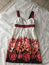 City Triangles Size 9 Casual Wear Empire Waist Floral Print  Dress