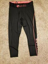 Ethika Men's S Compression 3/4 Tights Subzero Black Performance Underwear