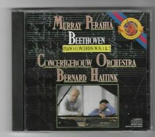 "MURRAY PERAHIA- ""Beethoven Piano Concertos 1&2""- Concertgebouw Orchestra- SEALED"