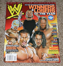 WWE MAGAZINE November 2008 COLLAGE Cover JEFF HARDY Poster NO LABEL