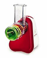 Moulinex Fresh Express DJ753500 Grater Electric With 3 Cones Vegetables & Cheese