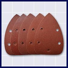5 x Schleifpapier für Maus-Schleifmaschine Holz / Metall 140 x 92 mm 80 Korn