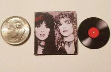 "Dollhouse Miniature Record Album 1"" 1/12 Heart Music  Rock Bebe La Strange"