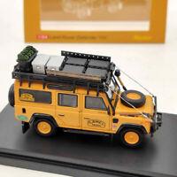 Master 1:64 Land Rover Defender 110 Models Toys Car Collection Orange Diecast