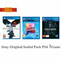 Playstation 4 Games Pack PS4 Game Killzone SIngstar Hidden Agenda 3 Games