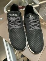 Men's Ariat 10021685 Fuse Black Mesh Western Casual Athletic Sport Shoes