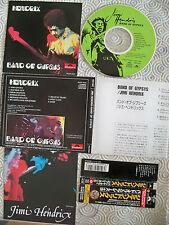 "JIMI HENDRIX ""BAND OF GYPSYS"" CD RARE JAPANESE WITH OBI POCP 2022 POLYDOR LYRICS"