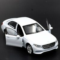 2016 Mercedes-Benz E-Class Model Cars Toys 1:36 Collection Alloy Diecast White