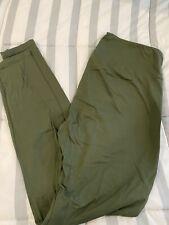 lularoe tc leggings solid Sage Green color