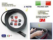 Modanature PANDA esterne laterali in gomma per FIAT adesivi salva paraurti 5 kit