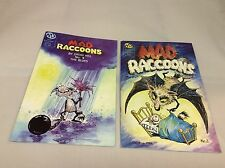Mad Raccoons #2,4 (MU Press/Cathy Hill/1014201) COMIC COLLECTION LOT OF 2