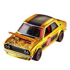 PRESALE Hot Wheels '71 DATSUN 510 Chrome GOLD RLC  Exclusive🔥VHTF💯