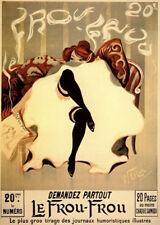 Le Frou Frou Lucien-Henrie Weiluc Art Print 12x16
