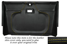 YELLOW STITCH FRONT ROOF LINING HEADLINING COVER FITS LAND ROVER DEFENDER 90 110