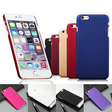 Rubberized Hard Matte Back Case Cover Snap On For iPhone6S 4S 5 5S 5C 6 6Plus
