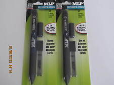 LOT OF 2 ZEBRA MLP2 MECHANICAL PENCIL- CARPENTERS / TEST TAKING PENCIL