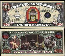 Lot Of 25 Bills - 1950's Jukebox / Diner Million Dollar