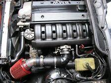 CXRacing Air Intake Flange Pipe + Filter For 92-98 BMW E36 325i 328i Black