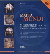 MAPPA MUNDI Restauro sperimentale due mappamondi del XVII sec. Greuter Flaccovio