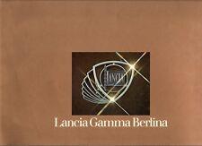 Lancia Gamma Berlina 1976-78 French Market Sales Brochure