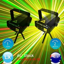 2X OZ Mini Laser Projector Light Party Club Disco DJ Effect Flashing Lighting