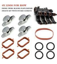 Drall sportelli Set 4x 22mm ROSSO ansaugbrücke con o-ring guarnizione per BMW x3 e83