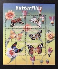 GRENADA BUTTERFLY STAMPS SHEET 2000 MNH BUTTERFLIES INSECT MOTH JERSEY TIGER BUG