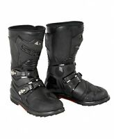 Lindstrands Fighter Adventure Motorbike Boots Black  Various Sizes RRP £199.00