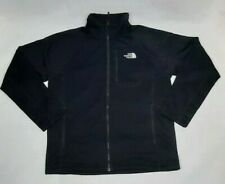 The North Face Mens Large Soft Shell Jacket - Black - Fleece Inside Very Warm
