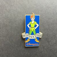 DLP Paris Attractions - Peter Pan's Flight Peter Pan Disney Pin 12990
