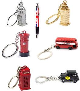 LONDON KEY RINGS KEY CHAINS SOUVENIRS KEY RINGS BIG BEN POST BOX TAXI LETTERBOX