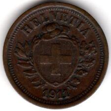 1911 B Suisse RAPPEN *** collector ***