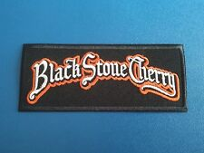 PUNK ROCK HEAVY METAL MUSIC SEW / IRON ON PATCH:- BLACK STONE CHERRY