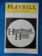 Heartbreak House - Circle In The Square Playbill w/Ticket - November 29th, 1983