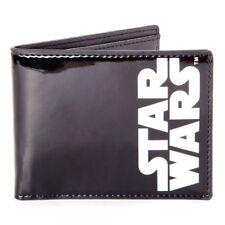 cffac9649b Star Wars Unisex Classic Main Logo Bi-fold Wallet One Size Black Mw080550st